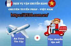 Gửi hàng từ Pháp về Việt Nam mất bao lâu thì nhận được?