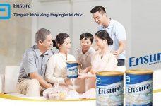 Các dòng sản phẩm sữa Ensure Úc bán chạy trên thị trường