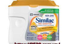 Nguồn hàng sữa Similac nhập khẩu từ Mỹ chất lượng, uy tín