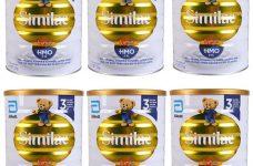 Các loại sữa Similac cho trẻ sơ sinh tốt nhất hiện nay