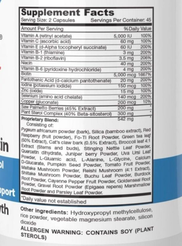 Nên chọn các sản phẩm chứa biotin, vitamin B5, B6, vitamin E, kẽm và các nguyên tố vi lượng khác để bổ sung cho mái tóc của mình.