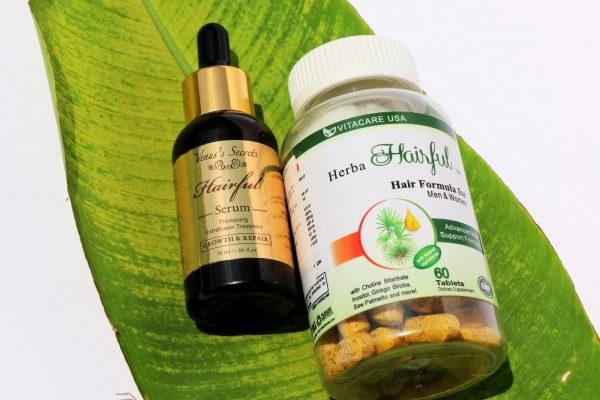 Herba Hairful phù hợp cho cả nam và nữ gặp các vấn đề về tóc như rụng tóc, khô tóc