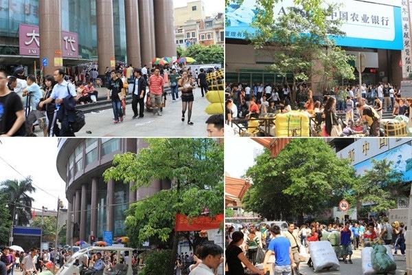 Chợ 13 - địa chỉ chuyên sỉ thời trang Quảng Châu
