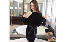 Đánh giá nguồn hàng đầm len Quảng Châu online