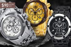 Đứng hình trước những mẫu đồng hồ Invicta bán chạy nhất thị trường