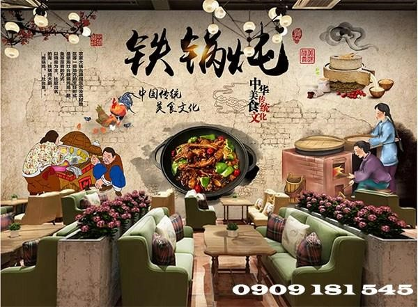 Với nhiều ưu điểm, giấy dán tường Trung Quốc hiện rất được ưa chuộng tại Việt Nam.