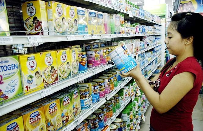 Sữa nhập Mỹ đang trở thành xu hướng tiêu dùng hiện nay