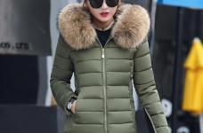 Hô biến công thức mix áo phao nữ dáng dài Hàn Quốc siêu xinh