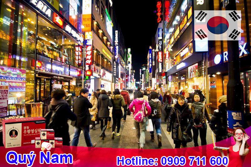 Nếu có điều kiện kinh tế và thời gian bạn có thể sang trực tiếp Hàn Quốc để nhập hàng