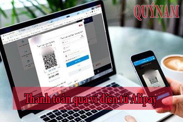 Nên thanh toán qua ví điện tử Alipay