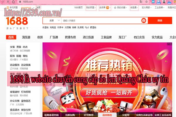 Các trang bán hàng Trung Quốc là nguồn order áo len hiệu quả cho chủ kinh doanh