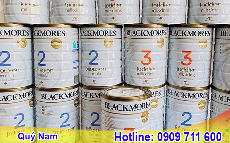 Blackmore Úc cung cấp đa dạng các dòng sản phẩm phù hợp với bé theo từng lứa tuổi.