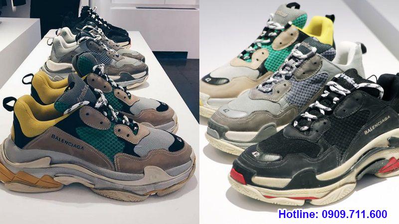 So sánh các tiêu chuẩn chọn giày