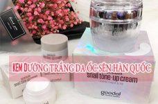 Tác dụng của kem dưỡng da ốc sên Hàn Quốc và cách order