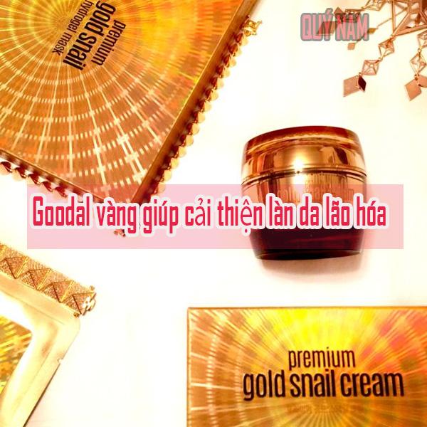 Goodal vàng giúp cải thiện làn da lão hóa