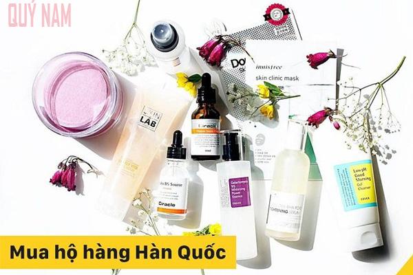 Quý Nam mua hộ kem dưỡng trắng da Hàn Quốc