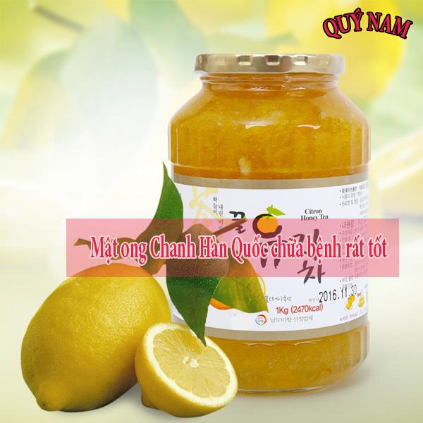 Chanh và mật ong có rất nhiều tác dụng chữa bệnh rất tốt