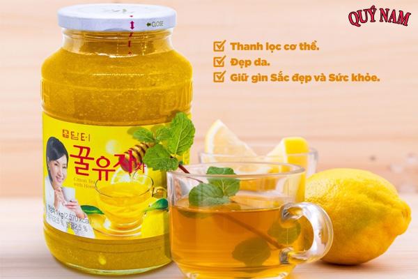 Mật ong chanh Hàn Quốc được sản xuất với quy trình khép kín
