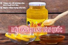 Cách sử dụng mật ong chanh Hàn Quốc và cách mua nhanh nhất