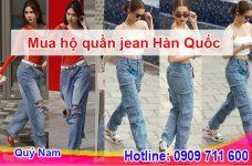Cách nhập quần jean Hàn Quốc cho người mới bắt đầu