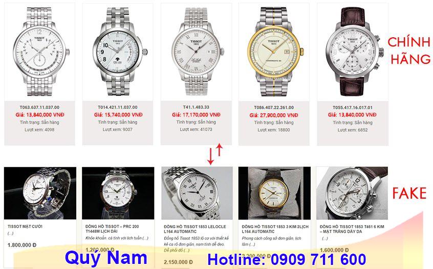 Không phải cửa hàng bán đồng hồ Tissot 1853 nam nào cũng đáng tin cậy nên bạn cần phải cân nhắc thật cẩn thận