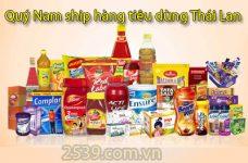 Cách nhập hàng tiêu dùng Thái Lan về bán có lời