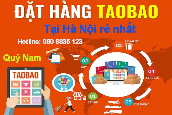 Quý Nam nhận order hàng Taobao giữ nguyên giá website