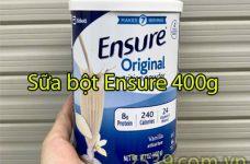 Tư vấn cách sử dụng và mua sữa Ensure Mỹ 400g nhanh nhất