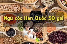 Ngũ cốc Hàn Quốc 50 gói có gì đặc biệt? Công dụng ra sao?