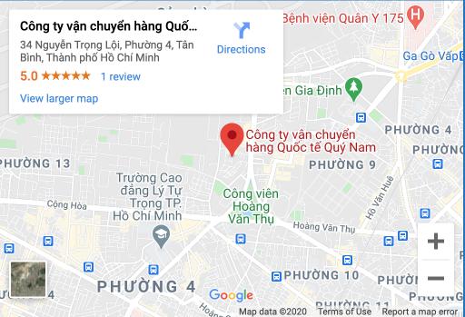 MAPS CÔNG TY QUÝ NAM