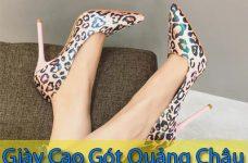 Các nguồn sỉ giày cao gót hàng Quảng Châu giá tận xưởng